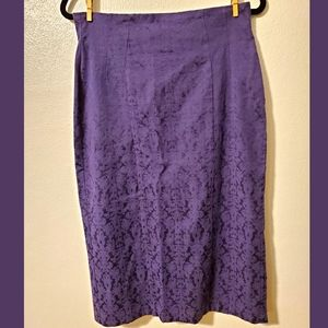 Eva Mendes purple skirt